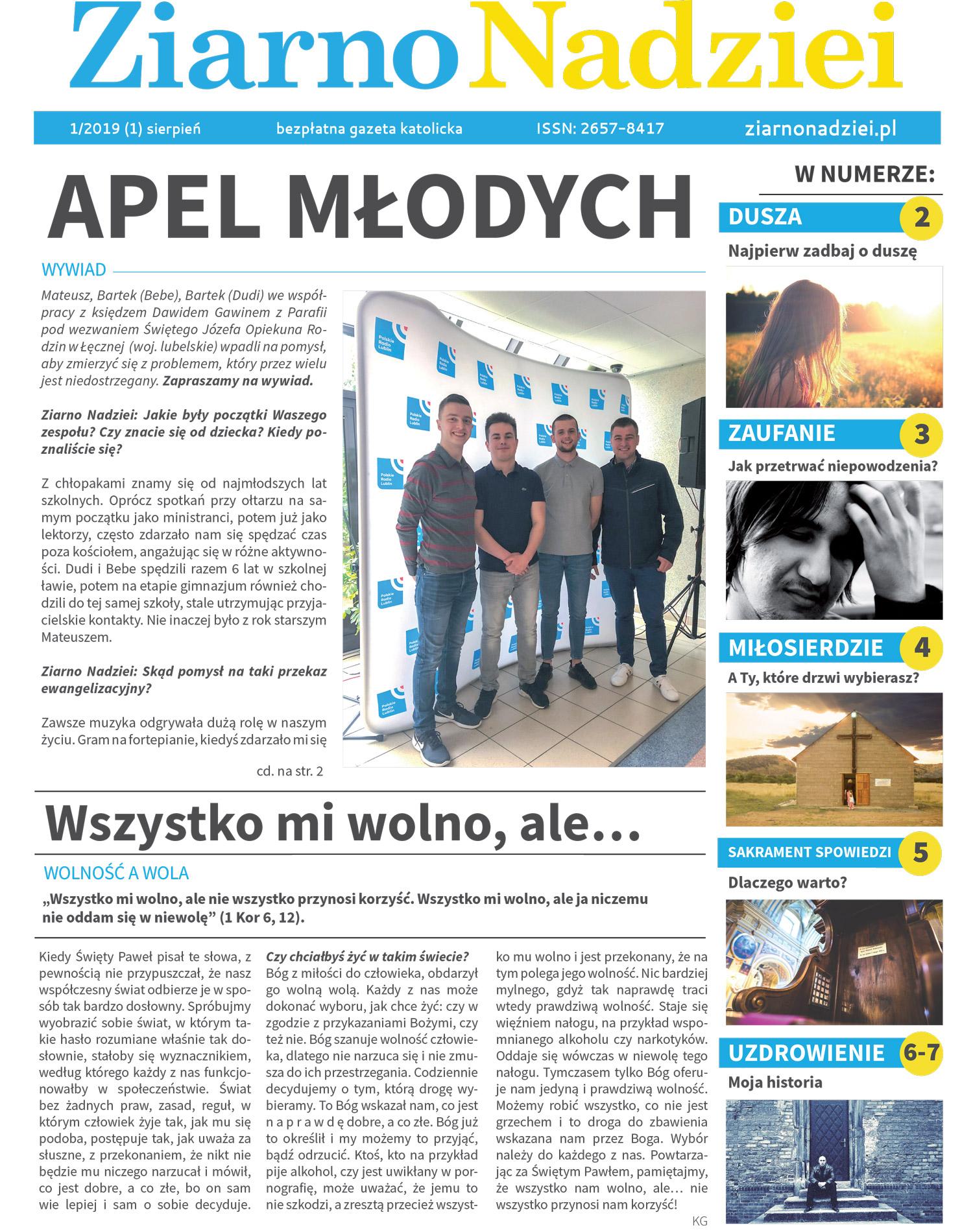 gazeta ziarnonadziei 1 2019